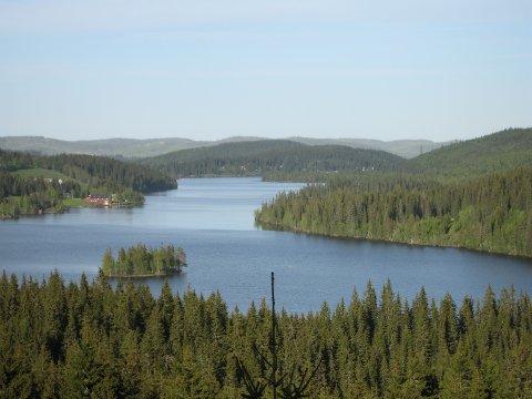 MØTE: Lunner historielag inviterer til møte om gamle ferdselsveier gjennom Nordmarka. Vårt bilde viser Mylla, lengst nord i marka.
