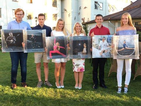 FIKK I FJOR: Disse ungdommene fikk stipend i fjor. Fra venstre: Thorleif Bratvold, Eirik Svendrup Augdal, Tuva Karine Åkvåg, Monica Sik Holm, Johannes Orvin Hansen og Solveig Sæthre.