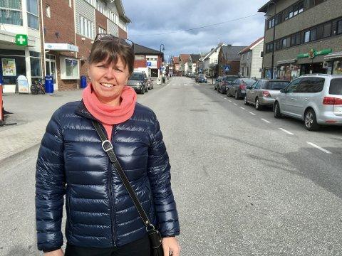 Positiv: Kari Framstad Lokrheim i Gran Handel og Håndverk er positiv til å se Potetfestivalen og Hadelandsmessa i sammenheng. Den tredje helga i september kan Storgata i Gran bli fyllt opp med enda mer lokal mat og lokalt liv enn under tidligere festivaler.