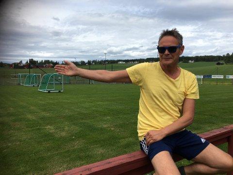 VELKOMMEN: - Kamer Qaka er alltid velkommen i Brandbu, hvis han ønsker det, sier Brandbu-trener Pål Jorstad.