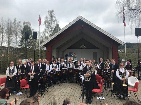 KONSERT: Jaren Hornmusikkforening starter sesongen med å invitere til utendørskonsert på Marienlyst tirsdag kveld.
