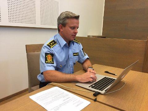 VARETEKT: Politiadvokat Joachim Sopp Onsrud begjærte fire ukers varetekt av den siktede hadelendingen.