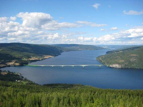 FJORDBRU: Forum Bjoneroas opprinnelige forslag om bru over Randsfjorden ble lagt fram allerede i 2013.