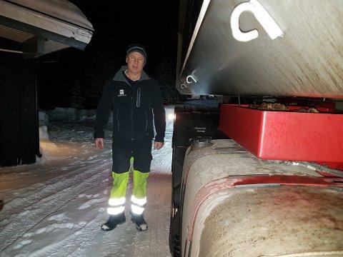 SAMARBEID: Samarbeid over fylkesgrensene er gammelt nytt for Norges Lastebileierforbund. Nå får forbundet i vår region