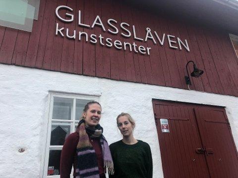 RESIDRENDE KUNSTNER: Lene Ødegård Olsen er invitert inn som residerende kunstner på Glasslåven, for å jobbe med Anette B. Steingrimsen og Gunnar Kopperud, som arbeider fast fra Glasslåven.