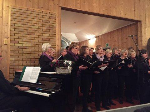 GLALAS: Adventskonsert i Oppdalen kapell.