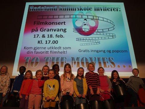 Musikkarusell-barna gleder seg til forestillinger på Granvang