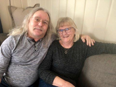 GIFT: Helgi og Lise møttes i 2001. De har holdt sammen i alle år, til tross for mye storm etter Farmen i 2004.