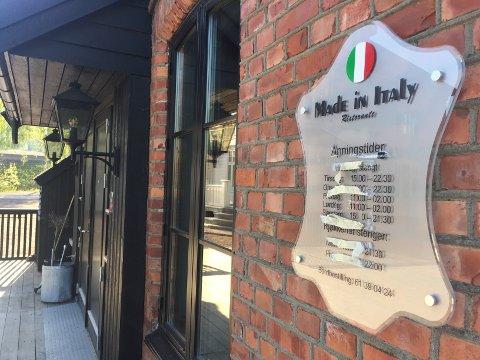KONKURS: Made in Italy i Garveriet på Roa har stengt dørene.