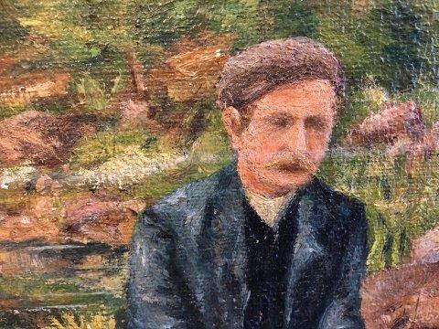 Portrett: Mannen i baugen.