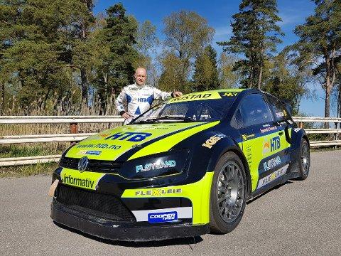 TILBAKE: Tommy Rustad kjører VM i rallycross førstkommende helg.
