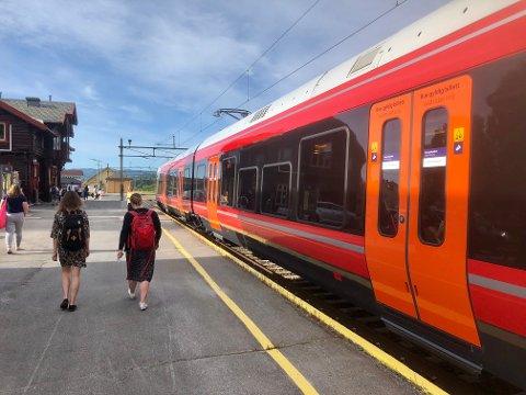 VARMT: Varmen fører til forsinkede tog på Gjøvikbanen. Foto: Rune Pedersen