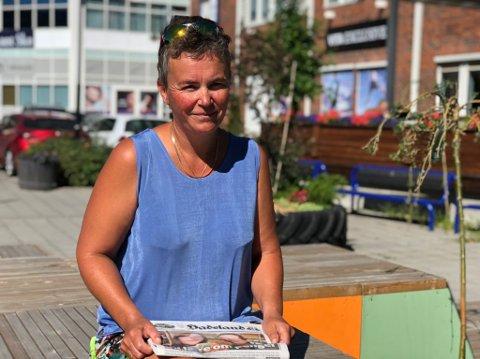 SOMMERSANG: Eli Ulle Holter håper valsen Sommer på Hadeland faller i smak, og at de som møter opp onsdag blir med på allsangen.