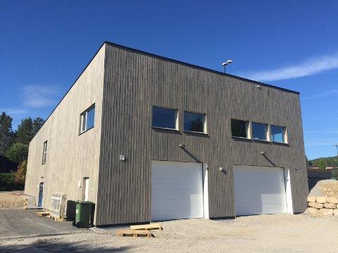 ÅPNING: Fredag 8. juni åpner det nye klubbhuset på Harestua.