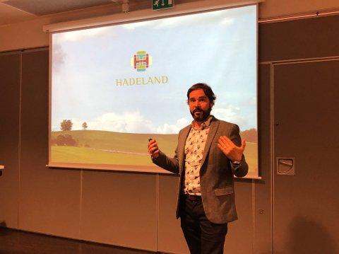 INVITASJON: Daglig leder for regionrådet på Hadeland, Sigmund Hagen, har forfattet en invitasjon til diskusjon om framtidig samarbeid.