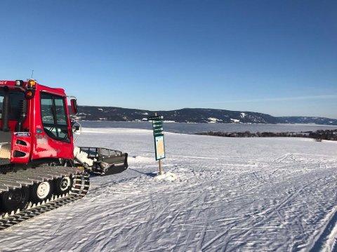 Utsikt mot Randsfjorden.