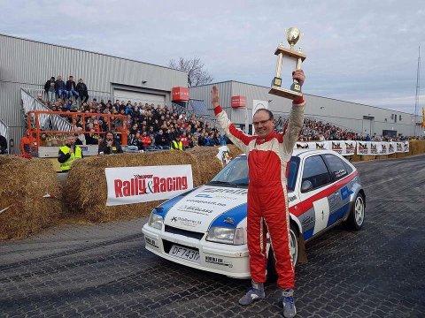 Vant: Lars M. Berntsentok sin sjuende seier på rad under Oslo motorshow.
