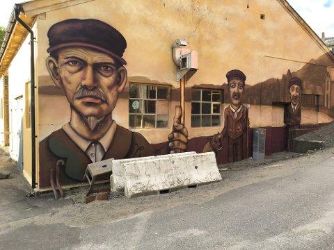 GATEKUNST: Foto fra Rosendal – et eksempel på Street Art er tatt av Terje Lindgård.
