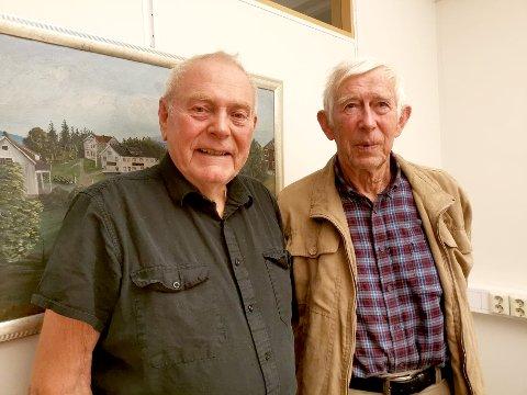 INVITERER: Einar Ellefsrud og Helge T. Hulbak og resten av eldrerådet i Gran inviterer til markering av eldredagen på Bergslia søndag. I Lunner markeres dagen allerede fredag, på Harestua samfunnshus.