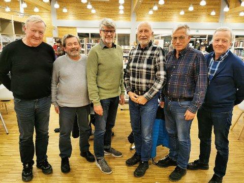 VINNERLAGET: Jan Erik Langseth (fra venstre), Inge Østrem, Odd Solum, Magne Haug, Per-Ole Kløvstad og Helge Bjerkli.