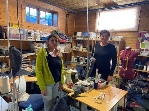 Syr: Sana Hissou jobber på Grinakervev, her i samtale med Imdi-direktør Libe Rieber-Mohn.