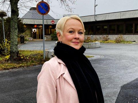 GODE NYHETER: Kommuneoverlege Marthe Bergli synes det er gode nyheter at Jevnaker ikke har hatt noen nye smittetilfeller de siste dagene.