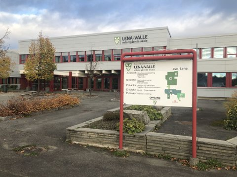 UTBRUDD: Det er avdekket et smitteutbrudd ved Lena-Valle videregående skole.