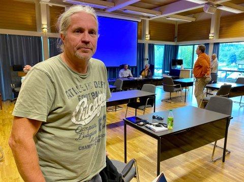 PROVOSERT: Bård Brørby (SV) mener det samarbeidet med Hadeland og regionrådet der som vil være best for Jevnaker. Men et flertall av politikerne er uenig med han.