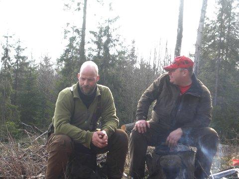 BRØDRE OG BESTEKAMERATER: Dette bildet der tatt av Arild (til venstre) og Trond-Arne i 2009, to år før Arild døde. - Vi var nesten mer bundet til hverandre som kamerater enn som brødre, sier Trond-Arne.