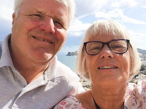 I SPANIA: Steinar Hasselgård har jobbet i Spania i ni måneder, mens kona har tilbragt omtrent halvparten av tiden der og halvparten i Norge.