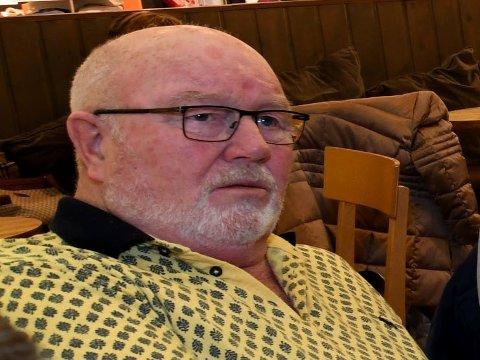 I SJOKK: Tom Nilsen, en av Tom hagens venner, sier han er i sjokk. (Foto: Vidar Sandnes)