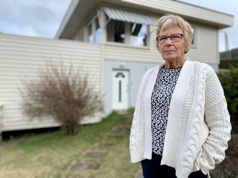 SJOKKERT: Gerd Olaug Ensrud (77) i Ringstad fikk sjokk da hun hørte at Tom Hagen er siktet for drap på sin kone Anne-Elisabeth. Paret bodde i underetasjen hos Ensrud på 70-tallet.