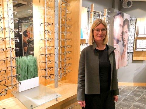 GRAN OPTIKK: Anne Berit Torp og Gran optikk AS gikk i pluss i 2019.