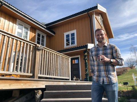 NY JOBB: Anders Diep-Lynne (40) fra Tingelstad har fått ny jobb. Nå skal han bygge opp Glitres nysatsing Glitre Energiløsninger.
