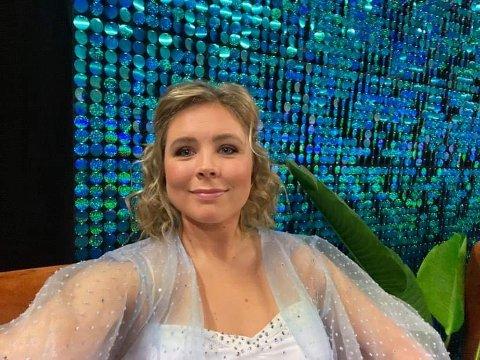 """BEINA HOLDT IKKE: Maren Lundby fikk problemer med beina og måtte trekke seg fra """"Skal vi danse"""" før lørdagens konkurranse."""