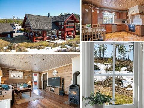 SOLGT: Dette huset i Klemmavegen ble solgt for 5.300.000 kroner.
