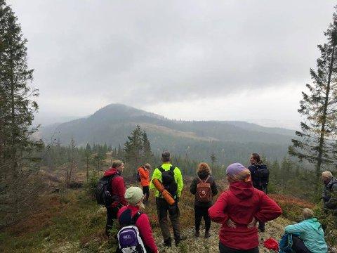 TURMARSJ: Snart er det duket for Skjerva 7 summits. Turen går over sju åstopper og strekker seg over 18 kilometer.