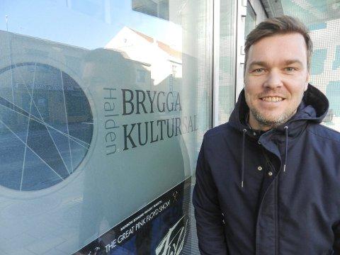 VIL LØFTE UNGDOM: Leder i Ung Kultur Østfold, Espen Holtan, håper den kommende festivalen vil gjøre det lettere for ungdom å slå gjennom med alt innenfor kunst og kultur.alle foto: arkivfoto