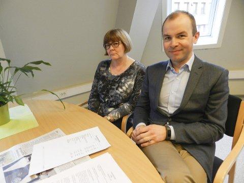 REAGERER: Regnskapsfører Anne-Lise Labråten og revisor Kim Atle Svendsen mener Aabøs kronikk inneholder flere feil og unøyaktigheter.