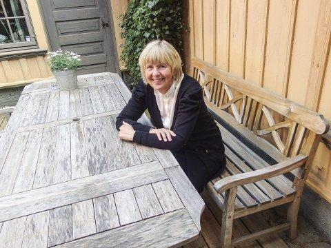 GLAD FOR PENGER: Gunn Mona Ekornes er direktør ved Østfoldmuseene.