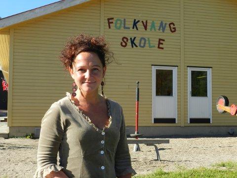 """NY SJEF: AnnHelen Adler Johannesson er ny rektor på Folkvang skole. Hun vil ha elevene mer ut i det hun kaller et """"utrolig flott nærmiljø"""" i undervisningen."""