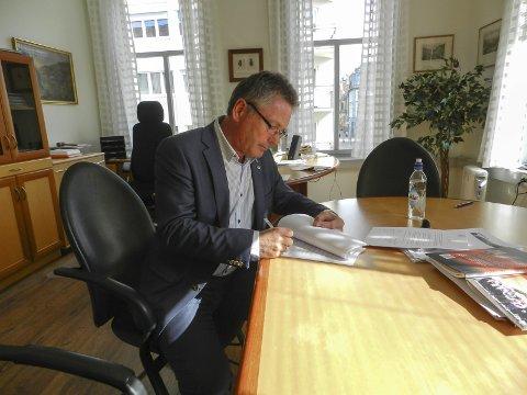 INNSPILL: Forfatteren av dette innhogget har en rekke innspill til Halden-ordfører Thor Edquist. Arkivfoto: Stein Johnsen