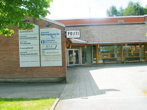 Vurdering: Aremark Sp ønsker kun en vurdering av å flytte kommuneadministrasjonen til bankbygget.