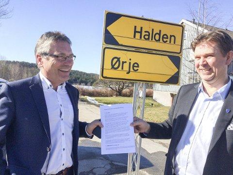 Skuffet: Thor Edquist er skuffet over måten AP kritiserer prosessen i forbindelse med sammenslåing av Halden og Geir Aarbus Aremark. foto: øivind kvitnes