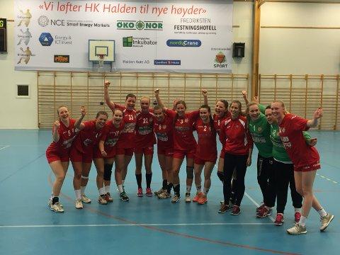 HKH-jentene kunne juble for seier mot Kolbotn og seriemesterskapet i 2. divisjon.