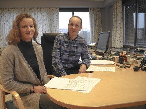 Skuffet: – NAV Halden ønsker ikke å forandre på sine rutiner, sier Lise A. Nohr og Tore G. Moen.Begge Foto: Jan Erik Sørlie