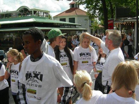 1500: Nærmere 1500 barn fra Halden har vært med Ferieklubben til Liseberg.
