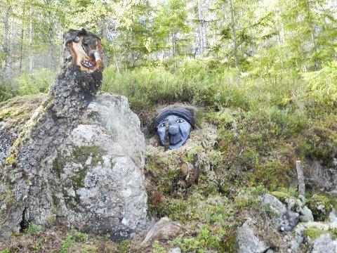 TITTEI: To troll av mange langs Trollstien.
