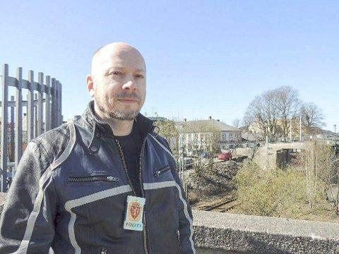 Politiførstebetjent Vidar Andersen.