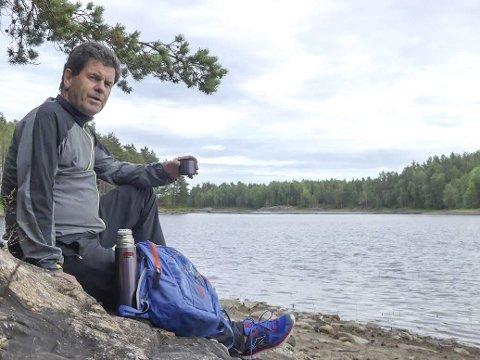 NATURMANN: Morten Paulsen er klar med ny turbok. – Bakgrunnen er å inspirere andre til å ta turer ut i den flotte naturen som omgir oss. Ideen til bøkene fikk jeg under en av mine mange turer, som jeg skrev om med bilder i HA, sier han.